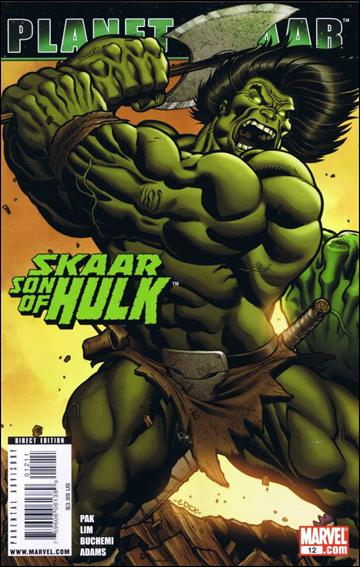 Skaar: Son of Hulk 12-A by Marvel