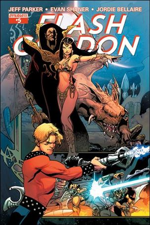 Flash Gordon (2014) 5-B