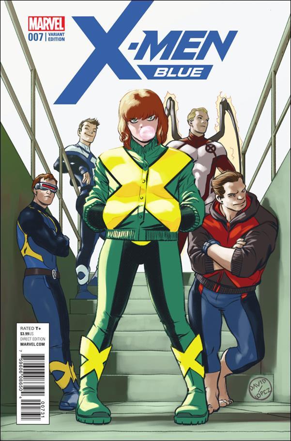 X-Men: Blue 7-C by Marvel