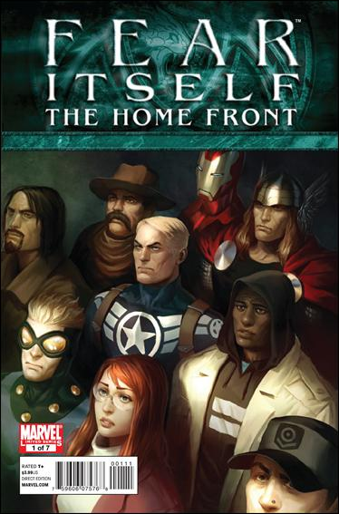 Fear Itself: The Home Front 1-A by Marvel