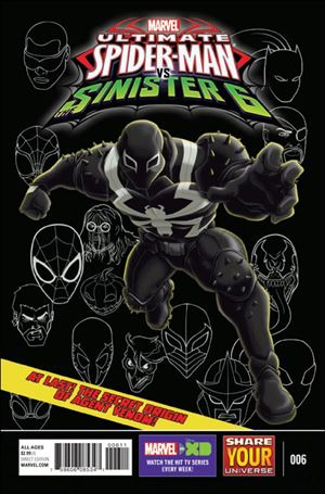 Marvel Universe Ultimate Spider-Man vs. the Sinister Six 6-A