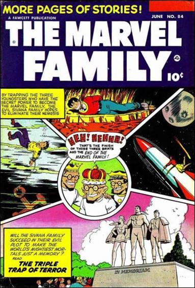 Marvel Family 84-A by Fawcett