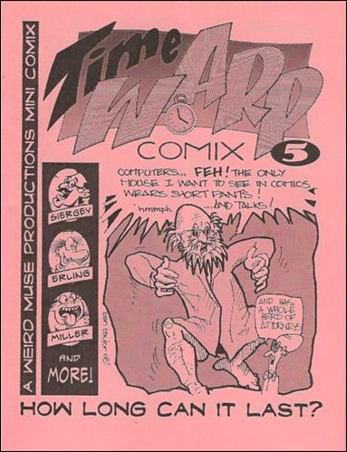 Time Warp Comix  5-A by Weird Muse Productions