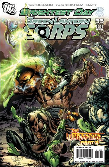 Green Lantern Corps (2006) 55-A by DC