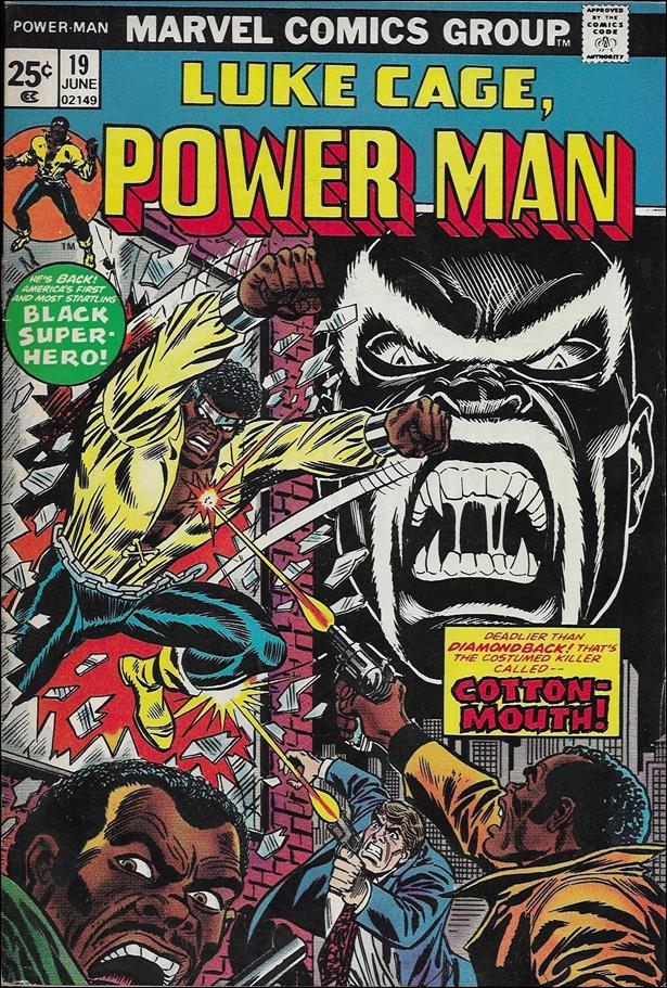 Power Man 19-A by Marvel