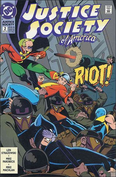 Justice Society of America (1992) 2-A by DC