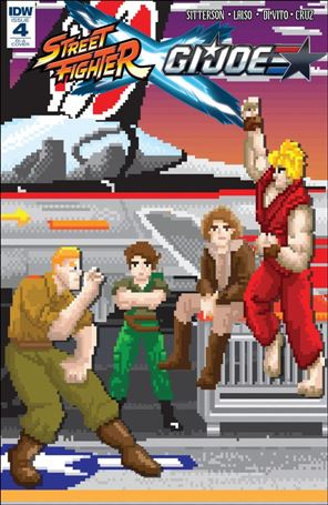 Street Fighter x G.I. Joe 4-C