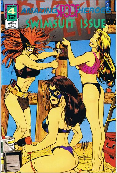 Amazing Spoof Heroes: Swimsuit Issue 4-A by Amazing Heroes Publishing