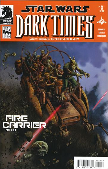 Star Wars: Dark Times - Fire Carrier 3-A by Dark Horse