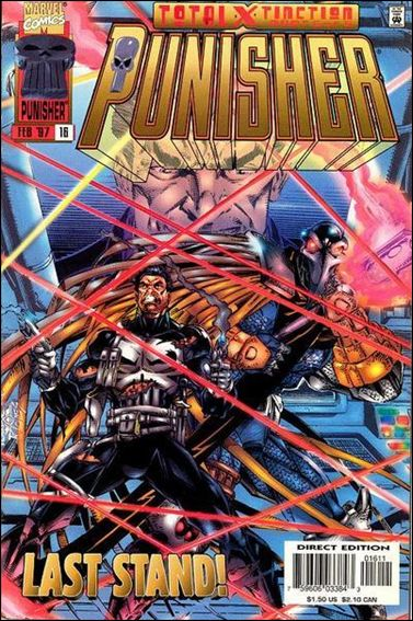 Punisher (1995) 16-A by Marvel