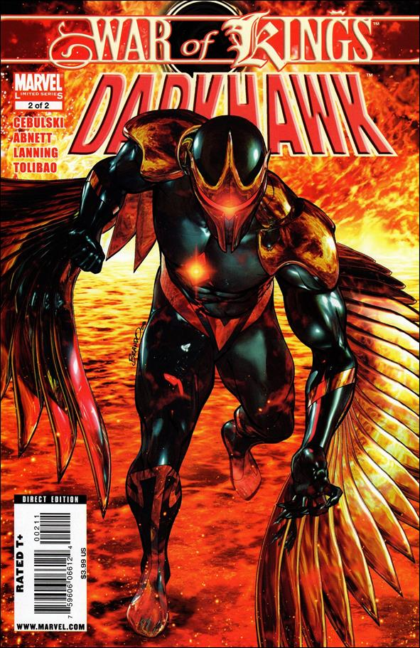 War of Kings: Darkhawk 2-A by Marvel