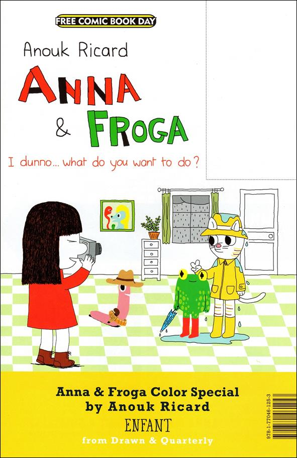 Anna & Froga / Pippi Longstocking Color Special nn-A by Drawn and Quarterly