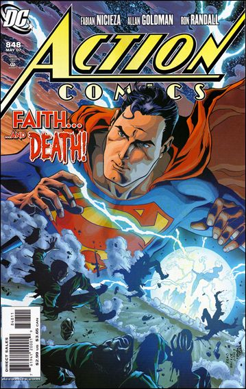 Action Comics (1938) 848-A by DC