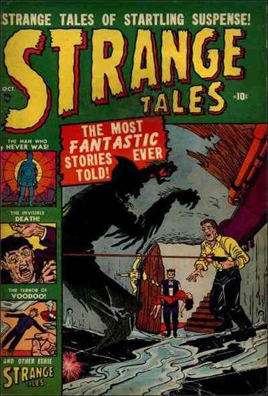 Strange Tales (1951) 3-A by Marvel