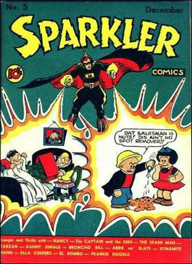 Sparkler Comics (1941) 5-A by United Features Syndicate