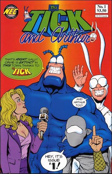 Tick and Arthur 1-A by New England Comics Press (NEC / NECP)