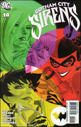 Gotham City Sirens 14-A by DC