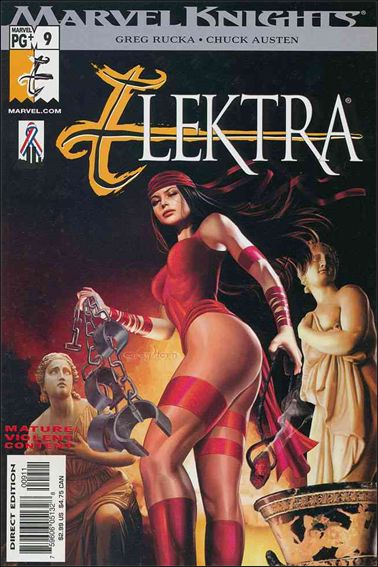 Elektra (2001) 9-A by Marvel