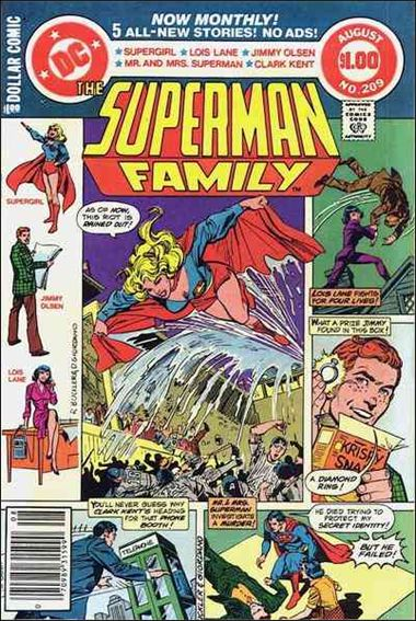 Superman Family 209-A by DC