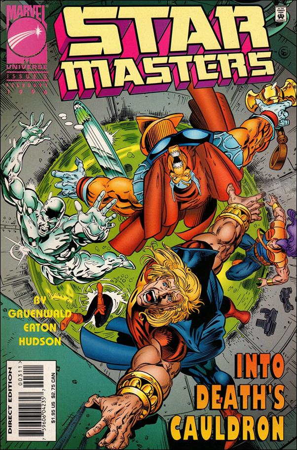 Star Masters (1995) 3-A by Marvel