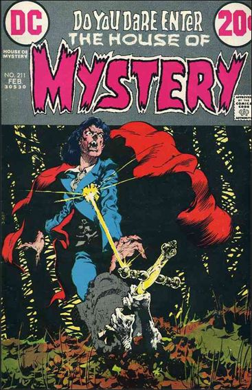 House of Mystery (1951) 211-A by DC