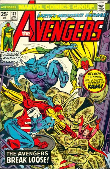 Avengers (1963) 143-A by Marvel