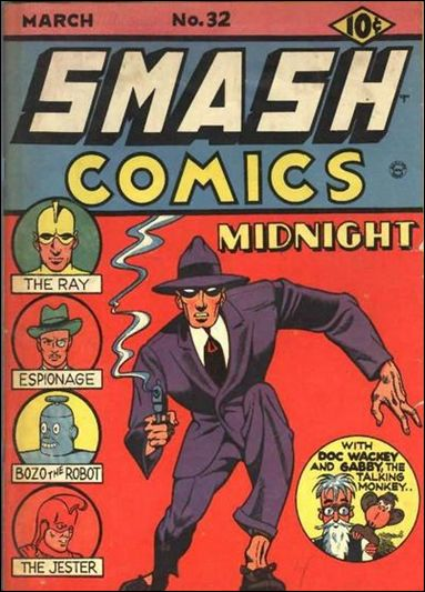 Smash Comics (1939) 32-A by Quality