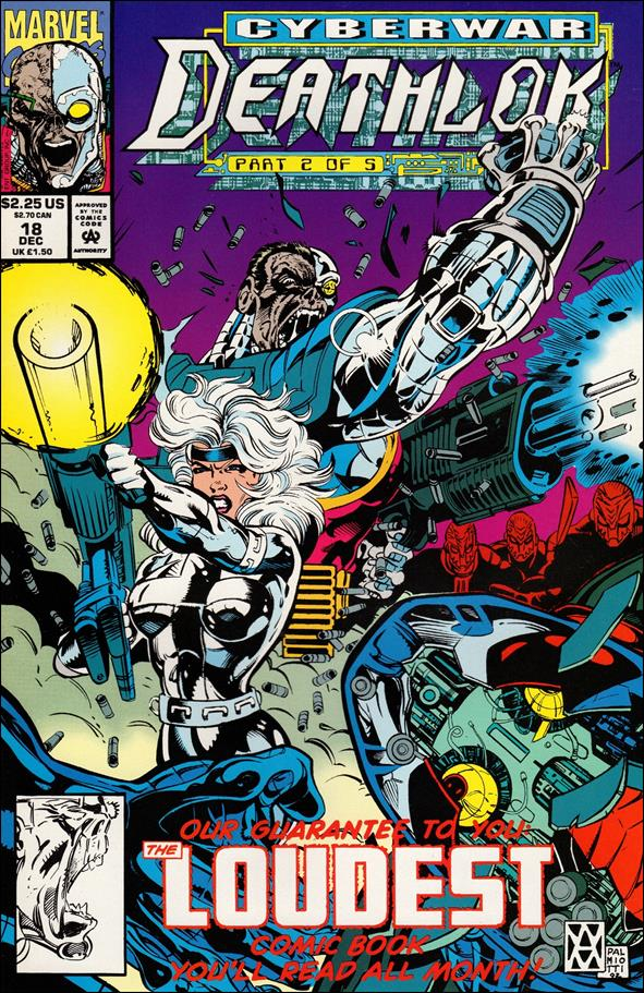 Deathlok (1991) 18-A by Marvel