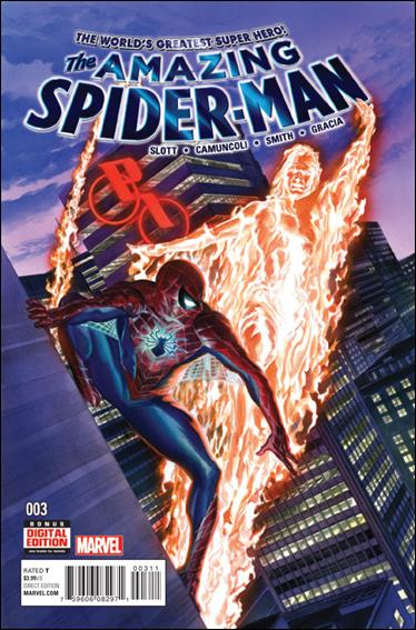 Amazing Spider-Man (2015) 3-A by Marvel