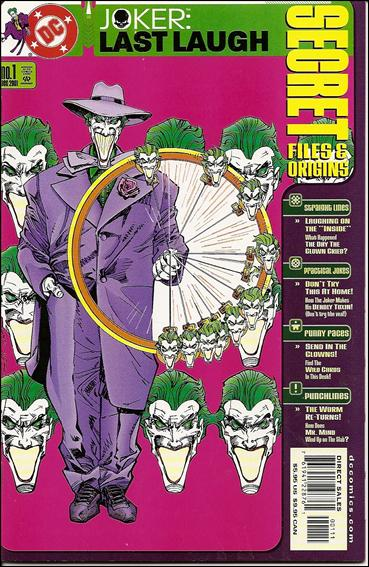 Joker: Last Laugh: Secret Files and Origins 1-A by DC