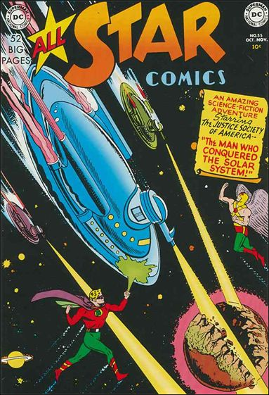 All Star Comics (1940) 55-A by DC