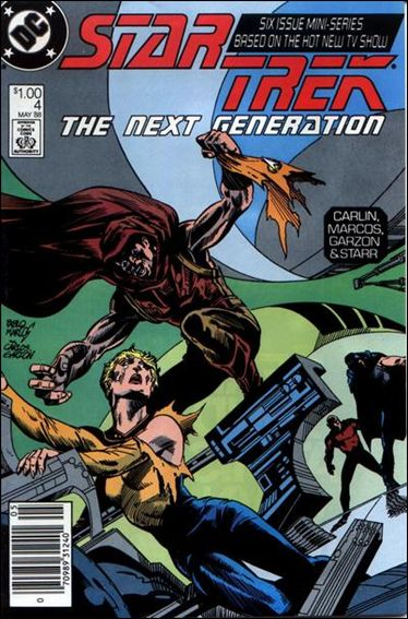 Star Trek: The Next Generation (1988) 4-A by DC