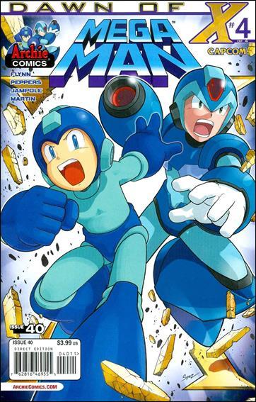 Mega Man 40-A by Archie