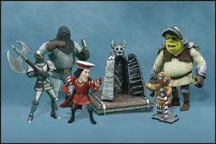 Shrek 3 Quot Mini Figures Dulac Dungeon Crew May 2001 Action