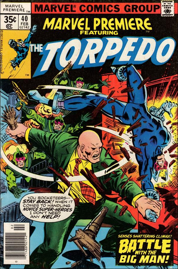 Marvel Premiere 40-A by Marvel