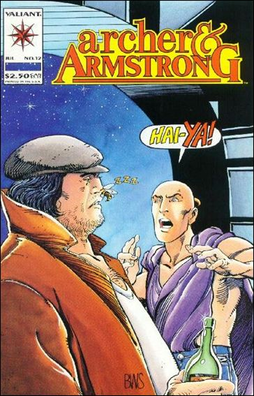 Archer & Armstrong (1992) 12-A by Valiant