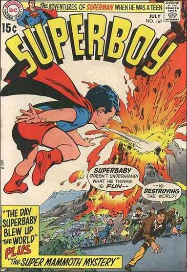 Superboy (1949) 167-A by DC