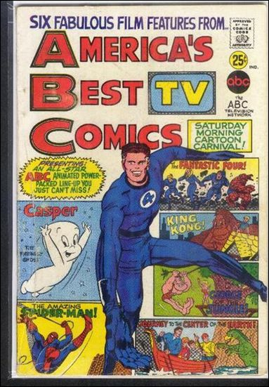 America's Best TV Comics 1-A by Marvel