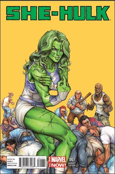 She-Hulk (2014) 1-C by Marvel