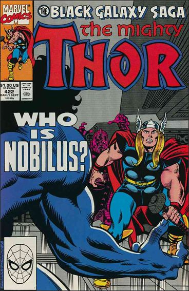 Thor (1966) 422-A by Marvel