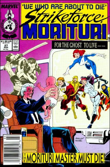 Strikeforce: Morituri 27-A by Marvel