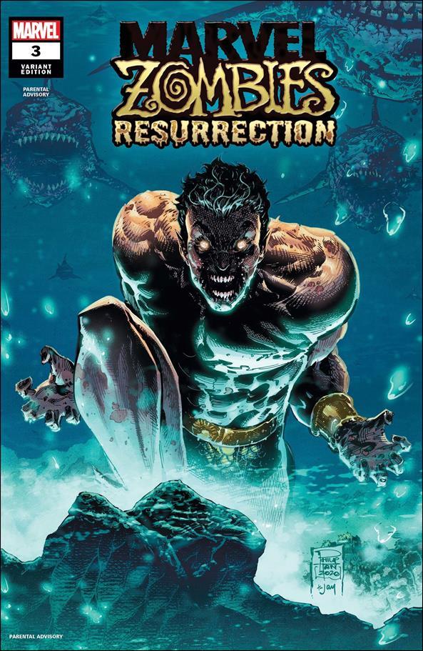 Marvel Zombies: Resurrection (2020) 3-B by Marvel