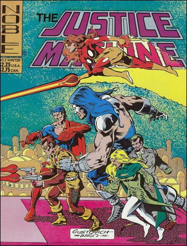 Justice Machine (1981) 2-A by Noble Comics