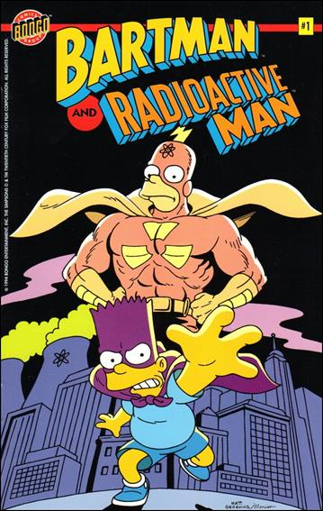 Bartman and Radioactive Man 1-A by Bongo