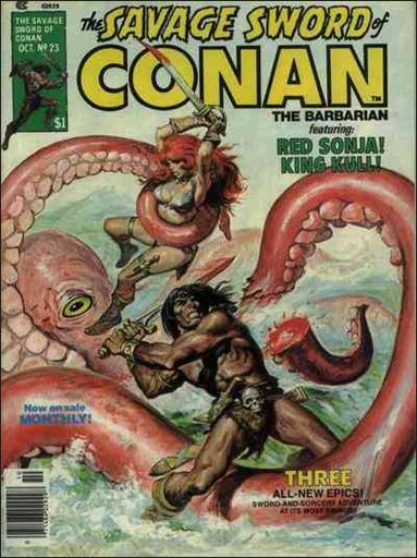 Savage Sword of Conan (1974) 23-A by Marvel