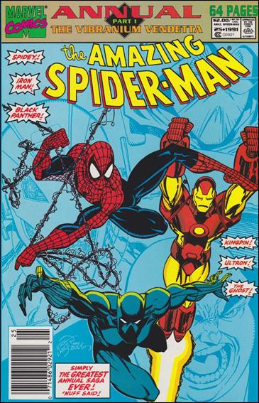 Amazing Spider-Man Annual 25-A by Marvel