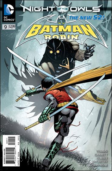 Batman and Robin (2011) 9-A by DC