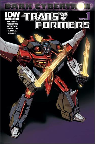 Transformers: Dark Cybertron 1-C by IDW
