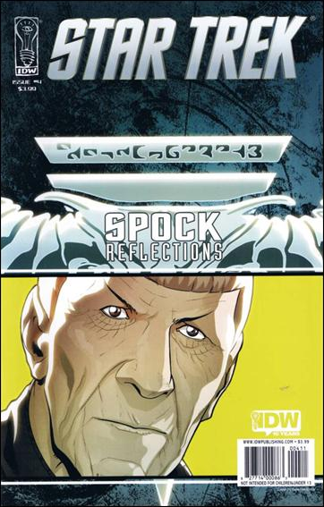 Star Trek: Spock: Reflections 4-A by IDW