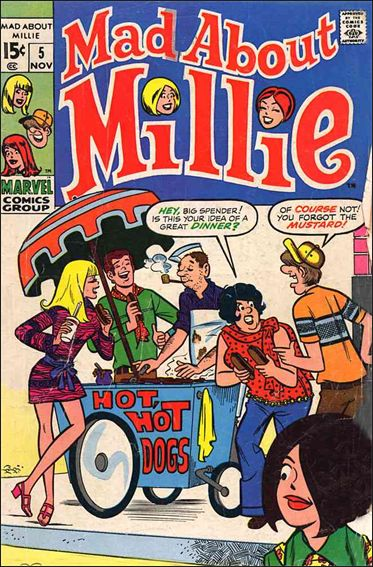 Mad About Millie 5-A by Marvel